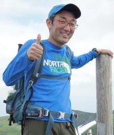青森の登山ガイド 船水氏
