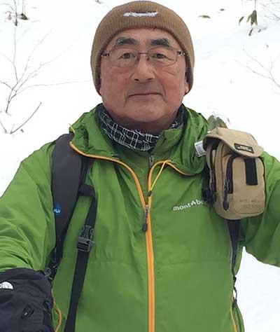 岩手の登山ガイド 竹林氏