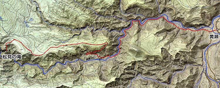 北東北山岳ガイド協会 松見の滝 ガイド