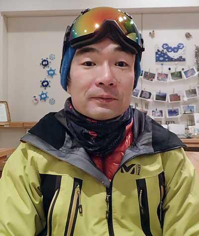 岩手の登山ガイド 砂子澤氏