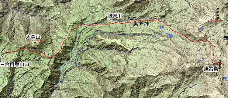北東北山岳ガイド協会 焼石岳 ガイドプラン